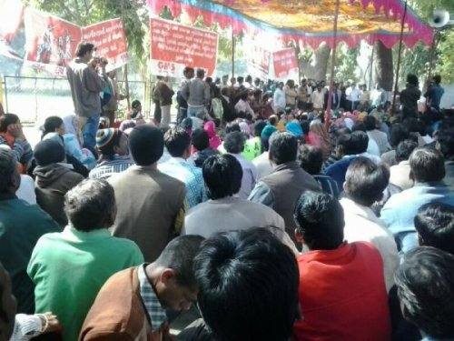 Sea of 'Safai' Workers Demand their Rights